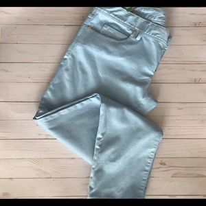 Lilly Pulitzer sateen skinny jeans size 4 w tags